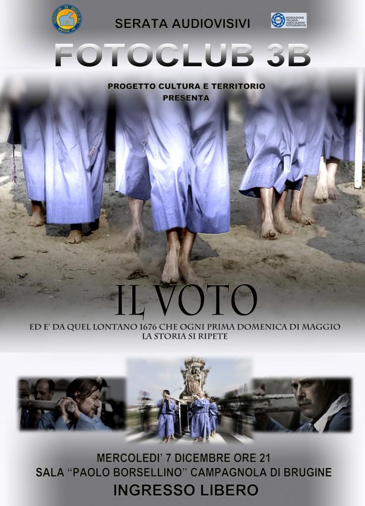 Serata audiovisivi - Il voto di Pontelongo