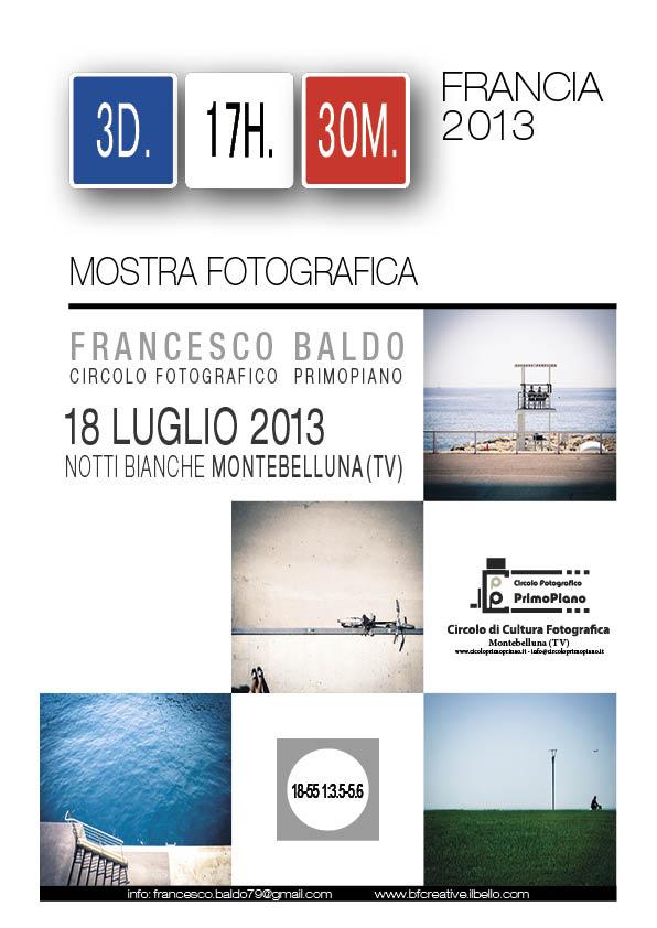 mostra fotografica Baldo Francesco