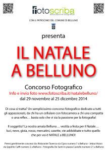 Il Natale a Belluno in un concorso fotografico