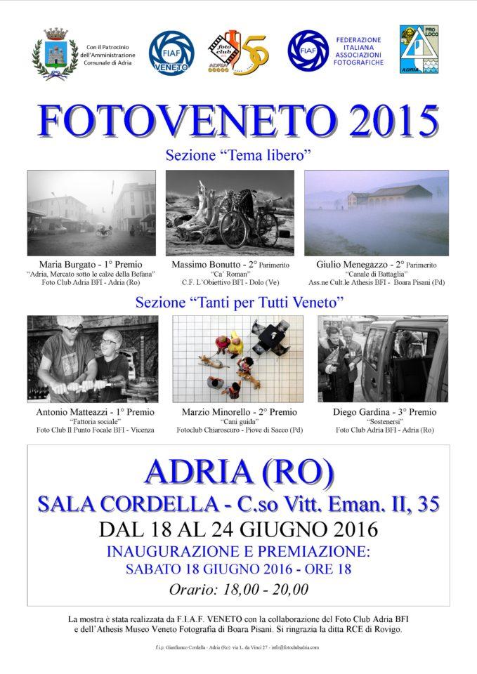 manifesto FOTOVENETO 2015